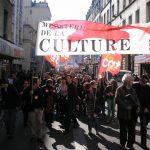 Cortége CGT-Culture 19 mars