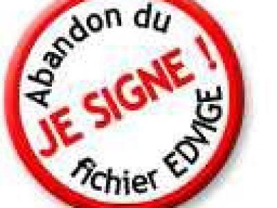 Deux décrets ressuscitent le décret créant EDVIGE