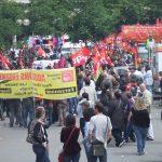 Départ de manifestation à Bercy