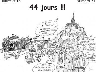 Monuments-Infos n°71 juillet 2013