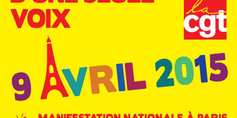 Journée de grève interprofessionnelle du 9 avril 2015