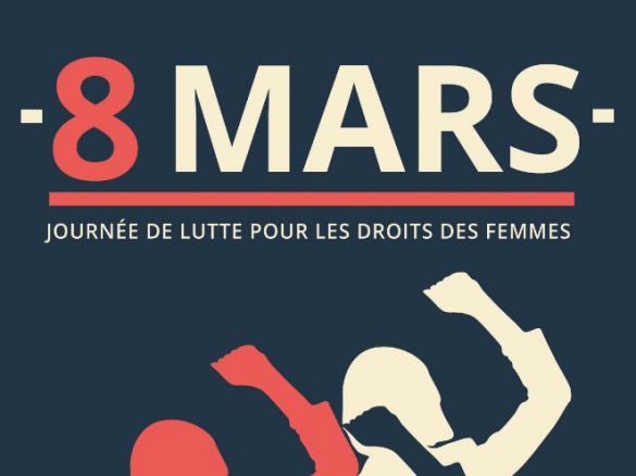 Le 8 mars : gagnons l'égalité femmes hommes dans la Fonction publique