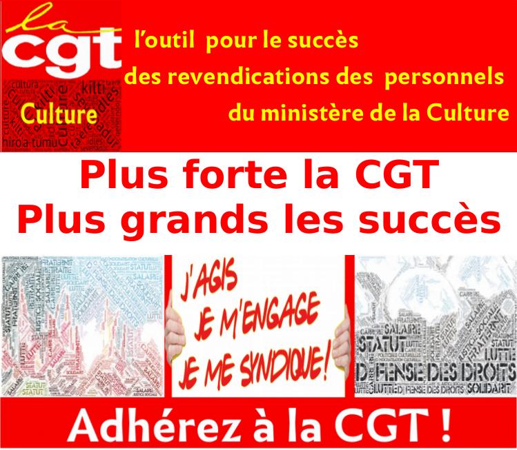 Adhérez à la CGT