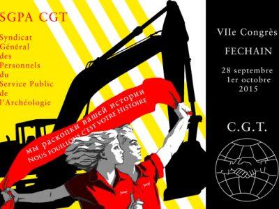 Textes du VIIe congrès SGPA CGT