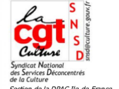 Compte-rendu du Comité d'Hygiène, de Sécurité et des Conditions de Travail (CHSCT) de la DRAC Ile-de-France – 15 juin 2017