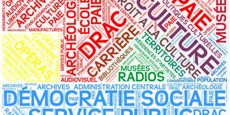 Déclaration CGT-Culture  à l'occasion du rassemblement CGT FSU UNSA  aux Colonnes de Buren le jeudi 8 juin à 12h
