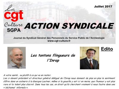 Action Syndicale juillet 2017