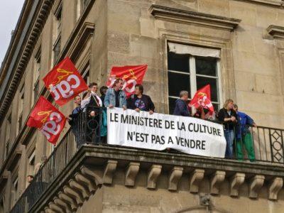 Le SNMD le réaffirme au côté de la CGT-CULTURE : Le ministère de la Culture n'est pas à vendre !