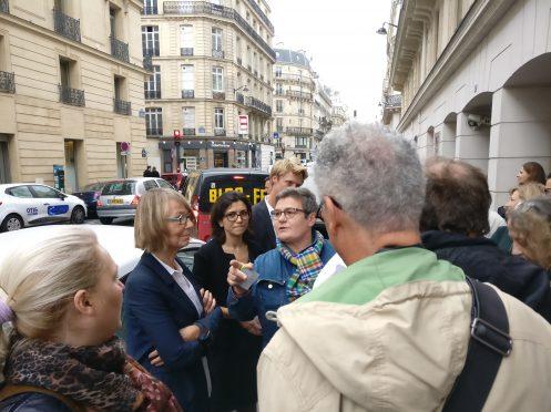 La CGT-Culture s'invite à la visite de la ministre de la culture à la DRAC IdF – en image