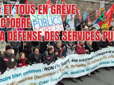 « Le service public , c'est le capital de ceux qui n'en ont pas » !