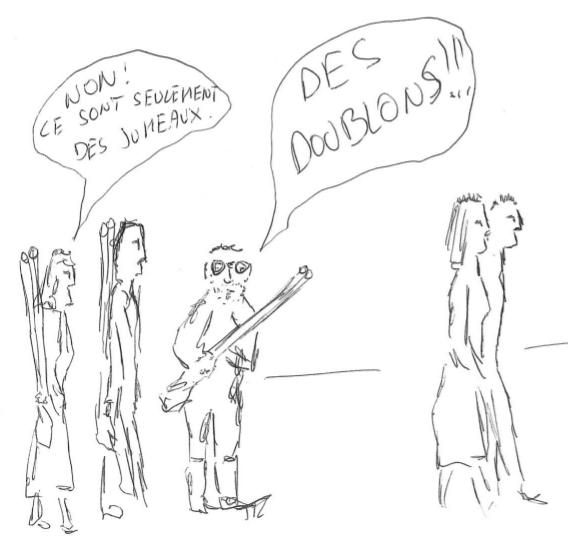 Des doublons