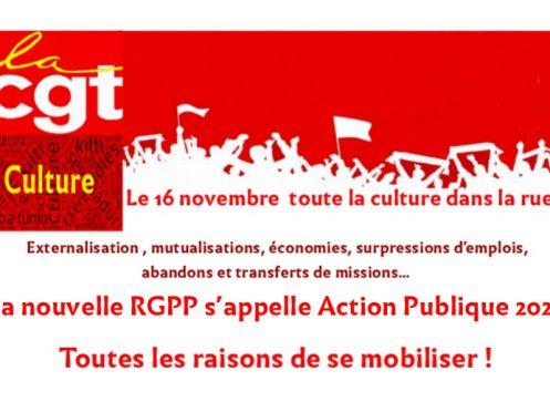 La nouvelle RGPP s'appelle Action Publique 2022. Toutes les raisons de se mobiliser!