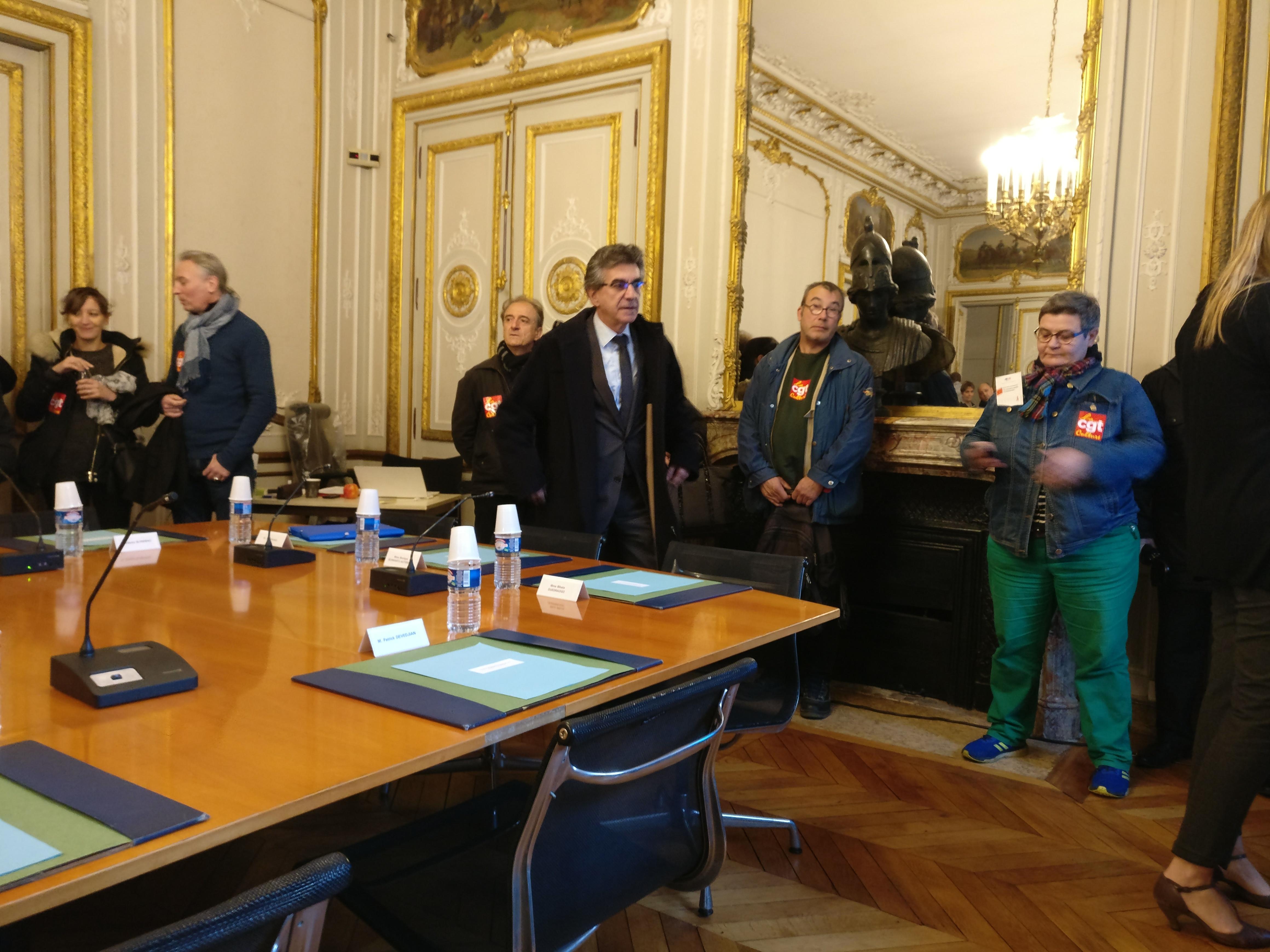 La CGT-Culture s'invite au conseil d'administration du Louvre