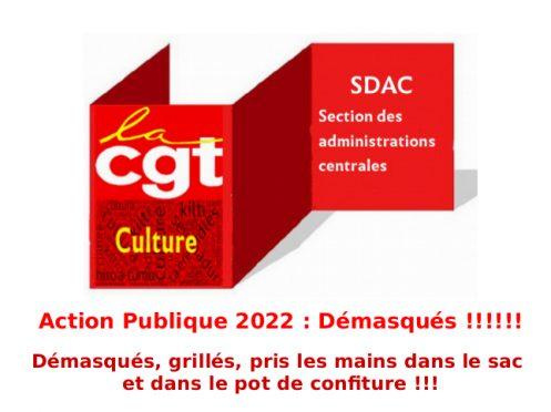 Action Publique 2022: Démasqués!!!!!!