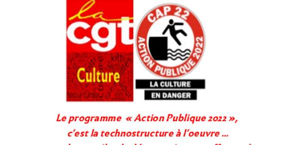Le programme  «Action Publique 2022»,  c'est la technostructure à l'œuvre… et le travail et la démocratie en souffrance!