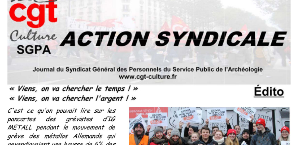 Action syndicale Février 2018