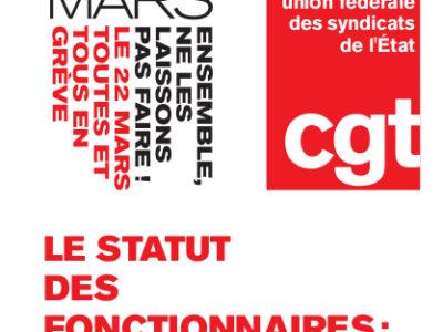 LE STATUT DES FONCTIONNAIRES : UN ATOUT POUR LA POPULATION ET LE PROGRÈS