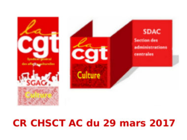 Compte Rendu du CHSCT-ACdu 29 mars 2018