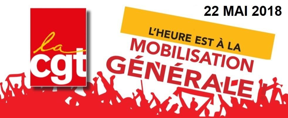 22 mai mobilisation générale