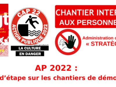 AP 2022 : point d'étape sur les chantiers de démolition