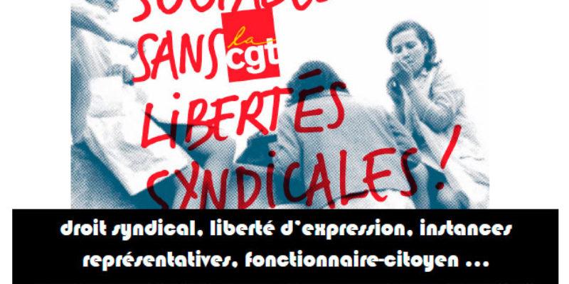 Meeting le 17 mai à Paris « Démocratie et libertés syndicales dans la Fonction publique »