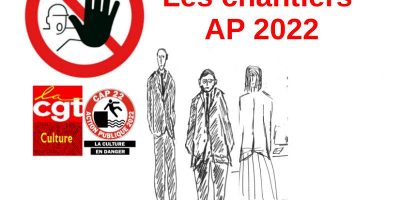 Action publique 2022 en images : Les chantiers interdits aux personnels