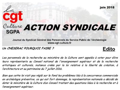 Action Syndicale juin 2018