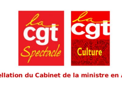 Interpellation du Cabinet de la ministre en Avignon!