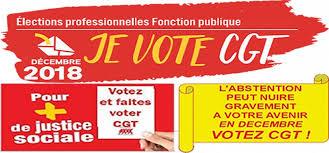 je vote CGT aux élections professionnelles