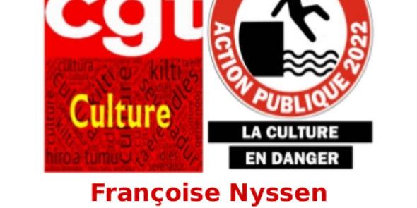 Françoise Nyssen est-elle encore ministre de la Culture?