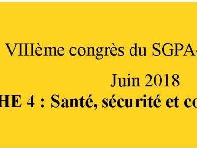 document d'orientation sgpa-cgt: fiche 4 Santé et sécurité au travail