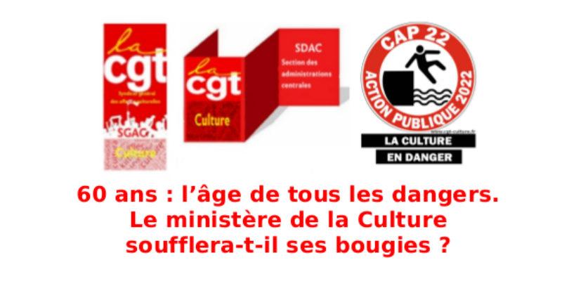 60 ans: l'âge de tous les dangers. Le ministère de la Culture soufflera-t-il ses bougies?