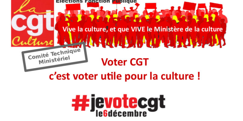 Profession de foi CTM CGT-Culture