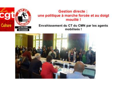 Gestion directe: une politique à marche forcée et au doigt mouillé!