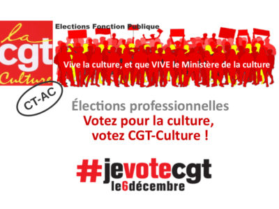 Profession de foi CT-AC CGT-Culture