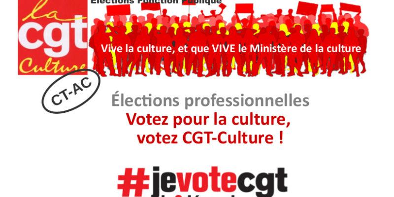 Profession de foi CT-AC CGT-Culture
