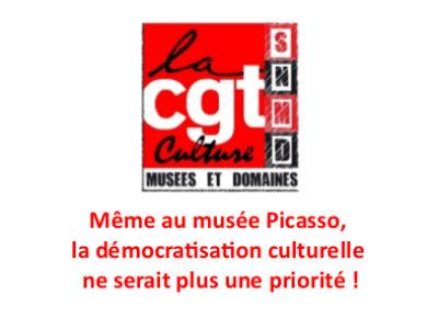 Même au musée Picasso, la démocratisation culturelle ne serait plus une priorité!