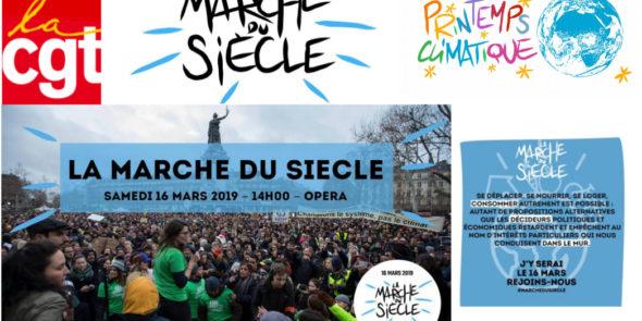 Appel mondial pour le climat le 15 mars 2019 / La marche du siècle