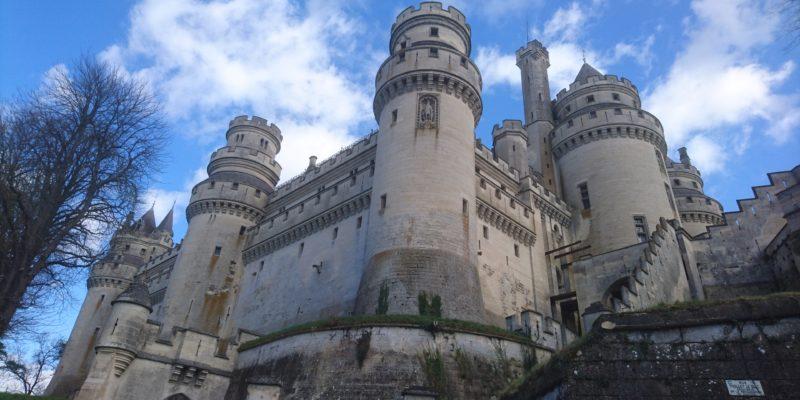 Deuxième samedi de grève au Château de Pierrefonds !