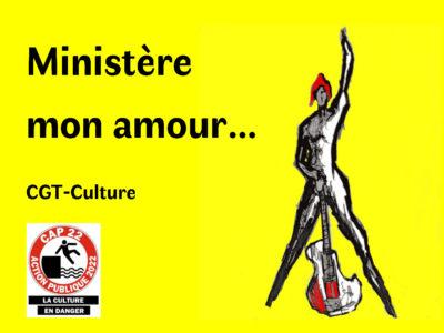 Ministère mon amour…