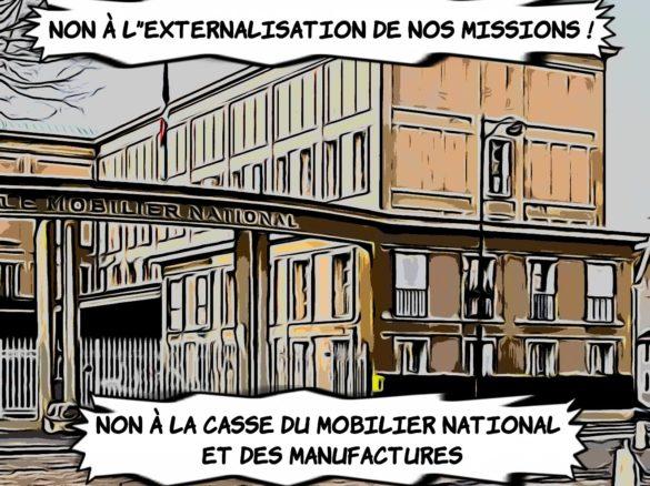 Externalisation, désorganisation et discrimination syndicale: Déclaration CGT du Mobilier national et des Manufactures CHSCT 27/01/20