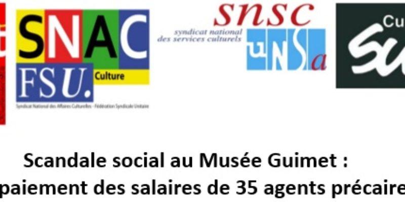 Scandale social au Musée Guimet : non-paiement des salaires de 35 agents précaires