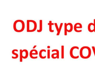 ODJ type d'un CT spécial COVID 19