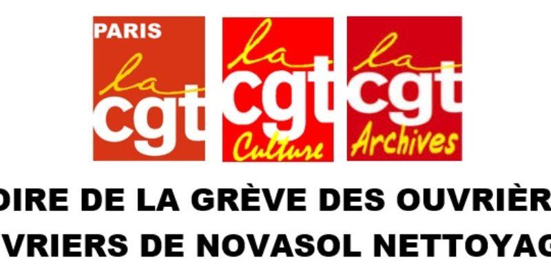 VICTOIRE DE LA GRÈVE DES OUVRIÈRES ET OUVRIERS DE NOVASOL NETTOYAGE !