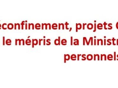 Réconfinement, projets OAC et Camus : le mépris de la Ministre envers les personnels