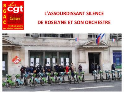 L'ASSOURDISSANT SILENCE  DE ROSELYNE ET SON ORCHESTRE