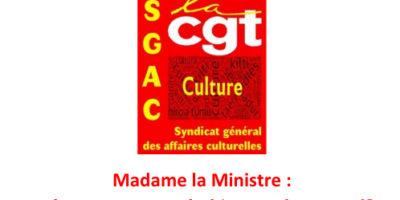Madame la Ministre : « L'OAC se passe très bien » selon vous !?
