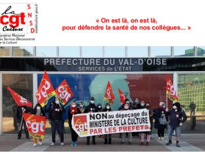 """""""On est là, on est là, pour défendre la santé de nos collègues… """""""