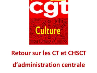 Retour sur les CT et CHSCT d'administration centrale du 8 et 12 avril 2021