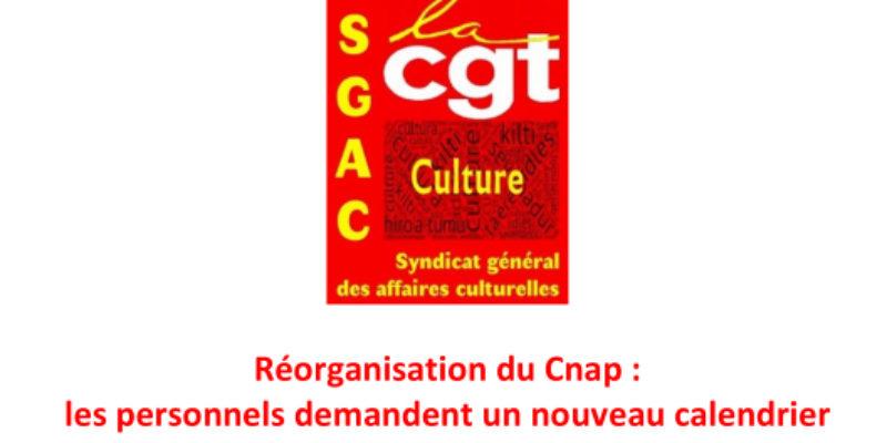 Réorganisation du Cnap : les personnels demandent un nouveau calendrier